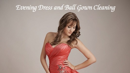 Ballgown drycleaning